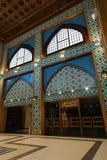 Centro commerciale del portone di Battuta nel Dubai fotografie stock libere da diritti
