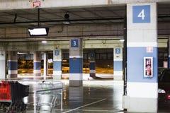 Centro commerciale del posto-macchina Fotografie Stock Libere da Diritti