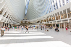 Centro commerciale del World Trade Center Immagine Stock