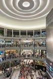 Centro commerciale dell'America durante la giornata indaffarata Immagine Stock Libera da Diritti