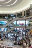 Centro commerciale dell'America durante la giornata indaffarata Immagini Stock Libere da Diritti