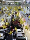 Centro commerciale dell'atrio Fotografia Stock