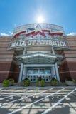 Centro commerciale dell'entrata principale dell'America Fotografia Stock Libera da Diritti
