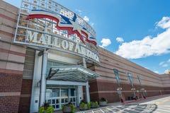 Centro commerciale dell'entrata principale dell'America Fotografie Stock Libere da Diritti