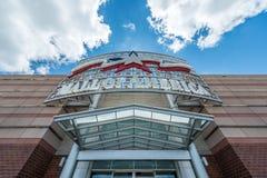 Centro commerciale dell'entrata principale dell'America Immagine Stock Libera da Diritti