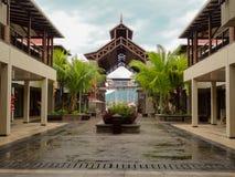 Centro commerciale dell'isola dell'Eden - Seychelles Fotografia Stock