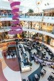 Centro commerciale della città di Marineda fotografie stock libere da diritti