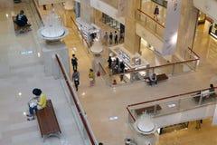 Centro commerciale della costruzione di Taipeh 101 Immagini Stock