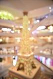 Centro commerciale della sfuocatura di Abtract Fotografia Stock