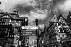 Centro commerciale di Chester Fotografia Stock Libera da Diritti