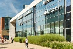 Centro commerciale di Debrecen del forum Immagine Stock