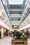 Centro commerciale di Debrecen del forum Immagini Stock Libere da Diritti