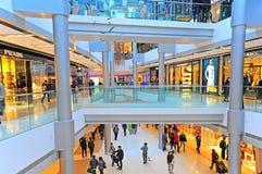 Centro commerciale di Ifc, Hong Kong Fotografia Stock Libera da Diritti