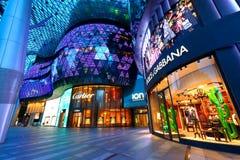 Centro commerciale di ION Orchard Singapore Fotografia Stock Libera da Diritti