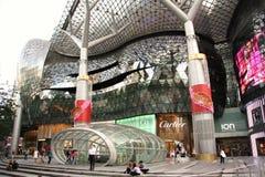 Centro commerciale di ION Orchard Singapore Fotografie Stock