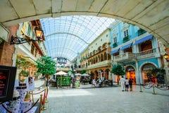 Centro commerciale di Mercato, Dubai, UAE Immagini Stock