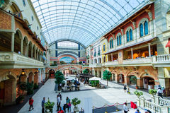 Centro commerciale di Mercato, Dubai, UAE Immagini Stock Libere da Diritti