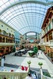 Centro commerciale di Mercato, Dubai, UAE Immagine Stock Libera da Diritti