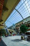 Centro commerciale di Mercato, Dubai, UAE Fotografie Stock