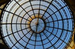 Centro commerciale di Milano Luxuous Vittorio Emanuele Immagini Stock