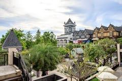Centro commerciale di Pickadaily Bangkok nello stile di Europa o inglese, nel centro commerciale e nella posizione sopra sopra Fotografie Stock