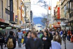 Centro commerciale di Rundle a Adelaide, Australia Meridionale Fotografie Stock