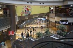 Centro commerciale di Shanghai Fotografia Stock Libera da Diritti