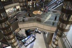 Centro commerciale di Shanghai Immagini Stock Libere da Diritti