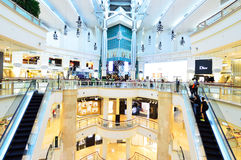 Centro commerciale di Taipei 101, Taiwan Fotografia Stock