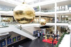Centro commerciale di verde di Moraleja, Madrid fotografia stock