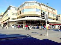 Centro commerciale di Victoria, Nottingham. 2011 fotografia stock libera da diritti