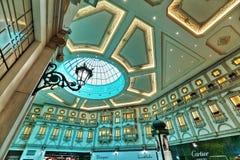 Centro commerciale di Villaggio in Doha Fotografia Stock