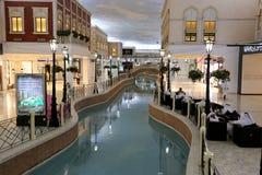 Centro commerciale di Villagio Doha, Qatar Immagini Stock Libere da Diritti