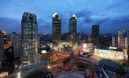 Centro commerciale di Xujiahui, Shanghai Fotografia Stock Libera da Diritti