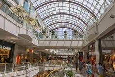 Centro commerciale diagonale di marzo a Barcellona Immagine Stock Libera da Diritti