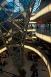Centro commerciale futuristico a Francoforte Immagine Stock Libera da Diritti