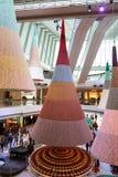 Centro commerciale a Hong Kong Fotografia Stock