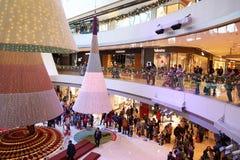 Centro commerciale a Hong Kong Immagini Stock Libere da Diritti