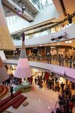 Centro commerciale a Hong Kong Fotografie Stock