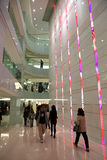 Centro commerciale in Hong Kong, Cina Fotografie Stock