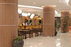 Centro commerciale interno Immagine Stock