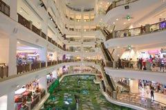 Centro commerciale a Kuala Lumpur Fotografia Stock Libera da Diritti