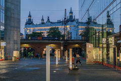 Centro commerciale Kurfurstendamm Berlin Germany Fotografia Stock Libera da Diritti