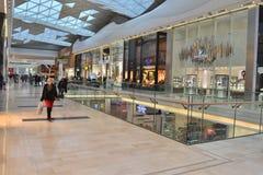 Centro commerciale Londra Immagini Stock