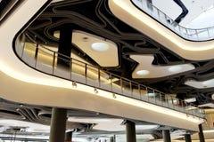 Centro commerciale moderno Fotografia Stock Libera da Diritti