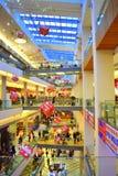 Centro commerciale nero di venerdì Immagine Stock Libera da Diritti