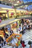 Centro commerciale nero di venerdì Fotografie Stock Libere da Diritti