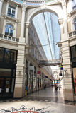 Centro commerciale, passaggio, Paesi Bassi fotografie stock