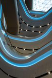 Centro commerciale rinnovato interno futuristico Immagini Stock