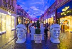 Centro commerciale shoping del forum di Las Vegas Fotografie Stock Libere da Diritti